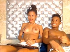Ebony Blowjob Webcam