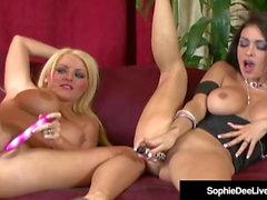Великобритания Софи Ди и Джессика Джеймс раздвинуть ноги на вебкамеру!