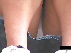 Stair Open wide Legs