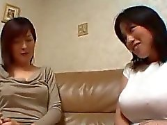 Asian Girl Kissing On The Couch Getting Her Nipples Sucked Pussy Licked On The Bed