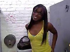 Ana Foxxx Gloryhole creampie