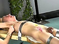 Twinks XXX Dean gets tickled, super-fucking-hot wax poured o