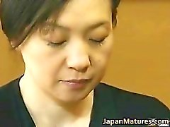 Japanese mature lady is in for some hot part1