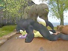 Werewolf ataque renamon 3