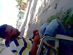 Ruckeln on street