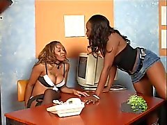 Ayana Angel And Angel Eyes Explore Each Other's Pussies