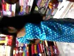 Hot Северная часть Индийского телугу девушки готовы ебать в магазин