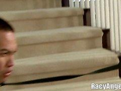 Aasit Face nuoleminen hauskaa Kagney Lynn Karter, Jynx Maze