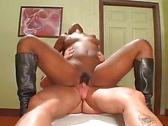 Hot black woman gives a Sex Massage