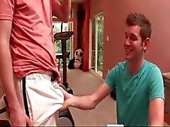 Agréable en sueur Big Dick Workout part4