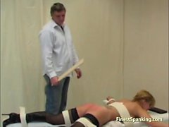 Housemaid Caned Until Bottom Is Red