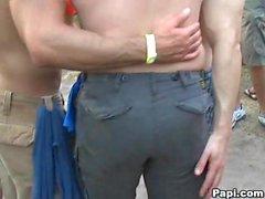 Hot Gay boyz ottenere organizza all'invasione Anal a una festa