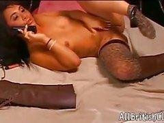 Sexy Hannah Shaw masturbating