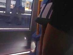 novinha no metro