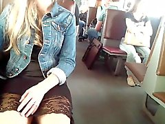 weiß pantys und reizvolles dress ) )