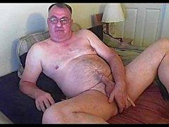 Opa cum auf Webcam