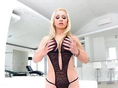 Gonzo anal scene with Nina Trevino by Ass Traffic