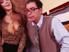 Office babe fantasise about fucking