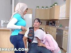 Mia Khalifa - Art imitating life with Julianna Vega and Sean Lawless