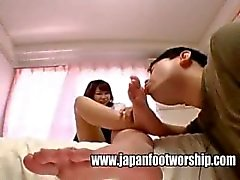 cute japanese feet worship