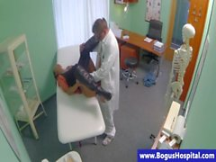 Real babe in hospital pussy pounded and cant get enough