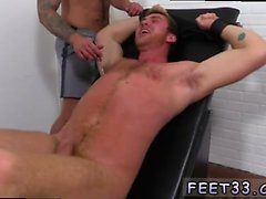 Gay movie porn Connor Maguire Jerked & Tickle d