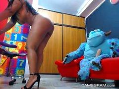 Lustful Big Tits Brunette Loves Hot Sex Shows On Cam