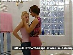 Jo e Cameron dalla saffiche Diversi Erotica le ragazze di lesbo che baciano