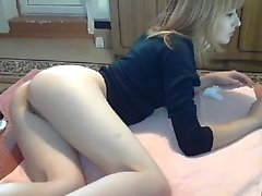 Rubia mlf esclavitud de bebé y jugando anal
