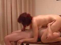 Russian red head mom and young man p3