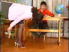 School teachers can get very kinky in the school premises too