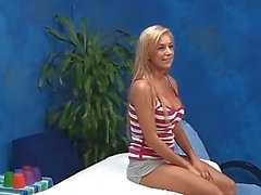 Busty Blonde Teen Caught Fucking Client on Spy Cam
