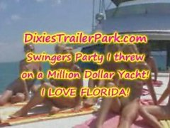 Swingers Party on a Yacht in Florida