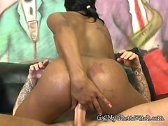 Ebony Maid Innicent Loves Anal Penetration