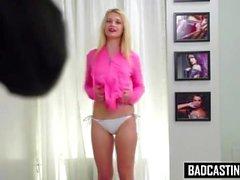 Blonde Wants To Be Bikini Model