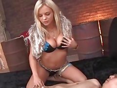 Bree olson en azul - mi actor favorito [hd]