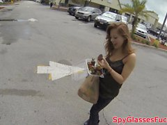 Eurobabe pov fucked doggystyle on spycam