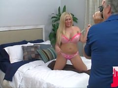Bubbly Blonde Heidie Really Loves Cock BTS