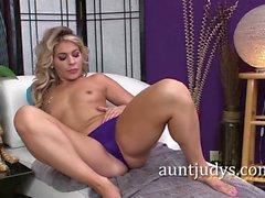 Nikki Capone Explores Her Hot Mature Body