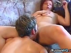 Russian Woman Getting Fucked