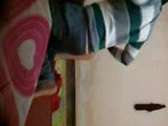 22 very cute gf in bf room full video