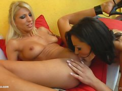 Clara G - Cameron Cruz fisting as lesbians do on FistFlush