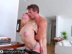 BANG Gonzo: Anal Fuck With Blonde Bombshell Dahlia Sky