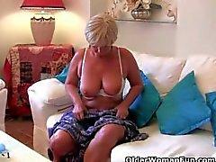Brittiläisen mummoja silti sukupuolen vanhuuden