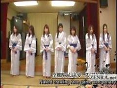 Legendado grupo de tira milfs japonês para jogo de corrida