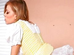 Nicole Ray maid outfit
