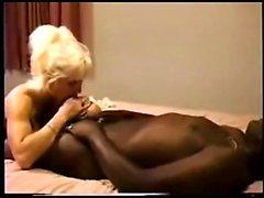 Hot vintage mature amateur interracial