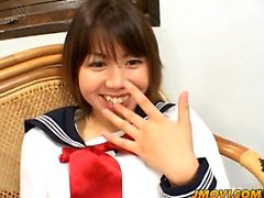 Ai young schoolgirl perfect pussy play