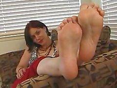 Rose meaty soles