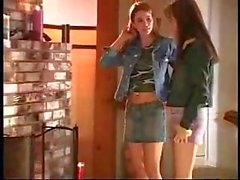 Teen Lesbos Finger Banging At The Cottage